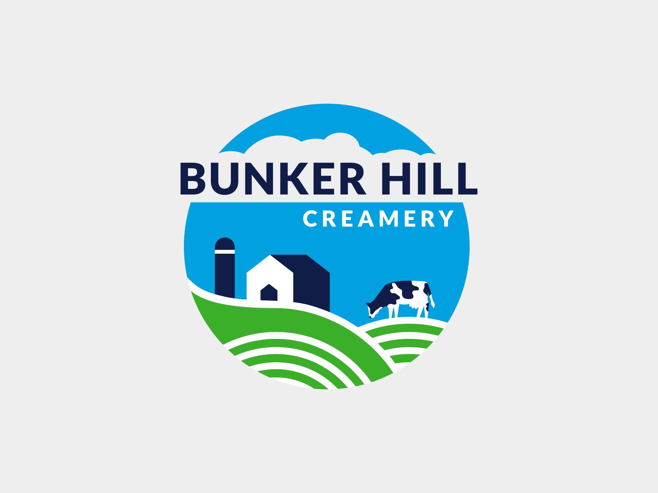 bunker hill creamery logo