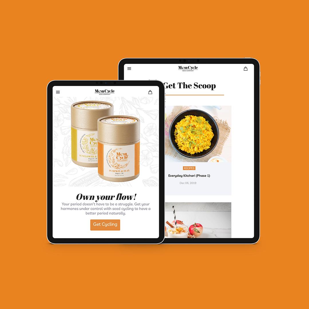 mooncycle seed co website