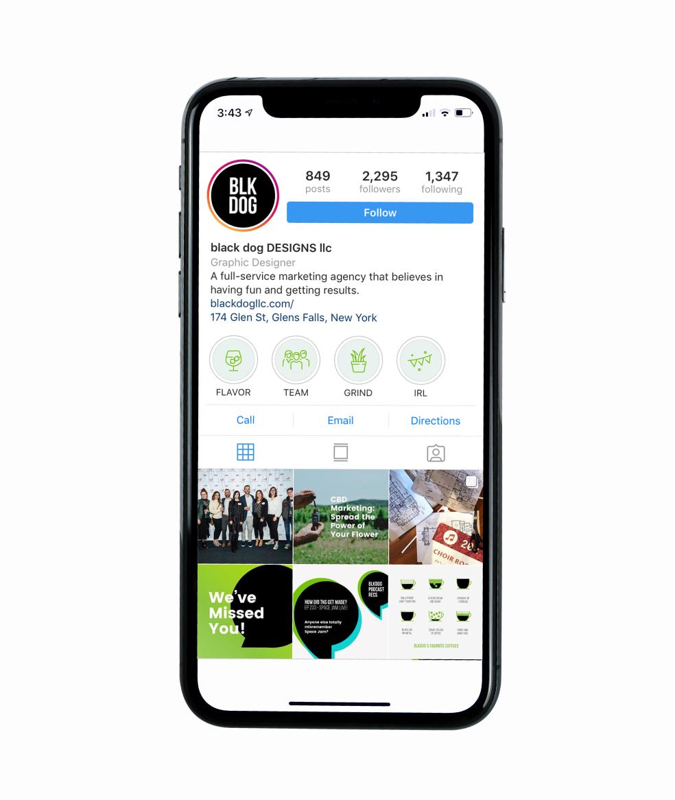 creating instagram stories highlights