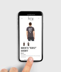 Kru coffee shirts selling online