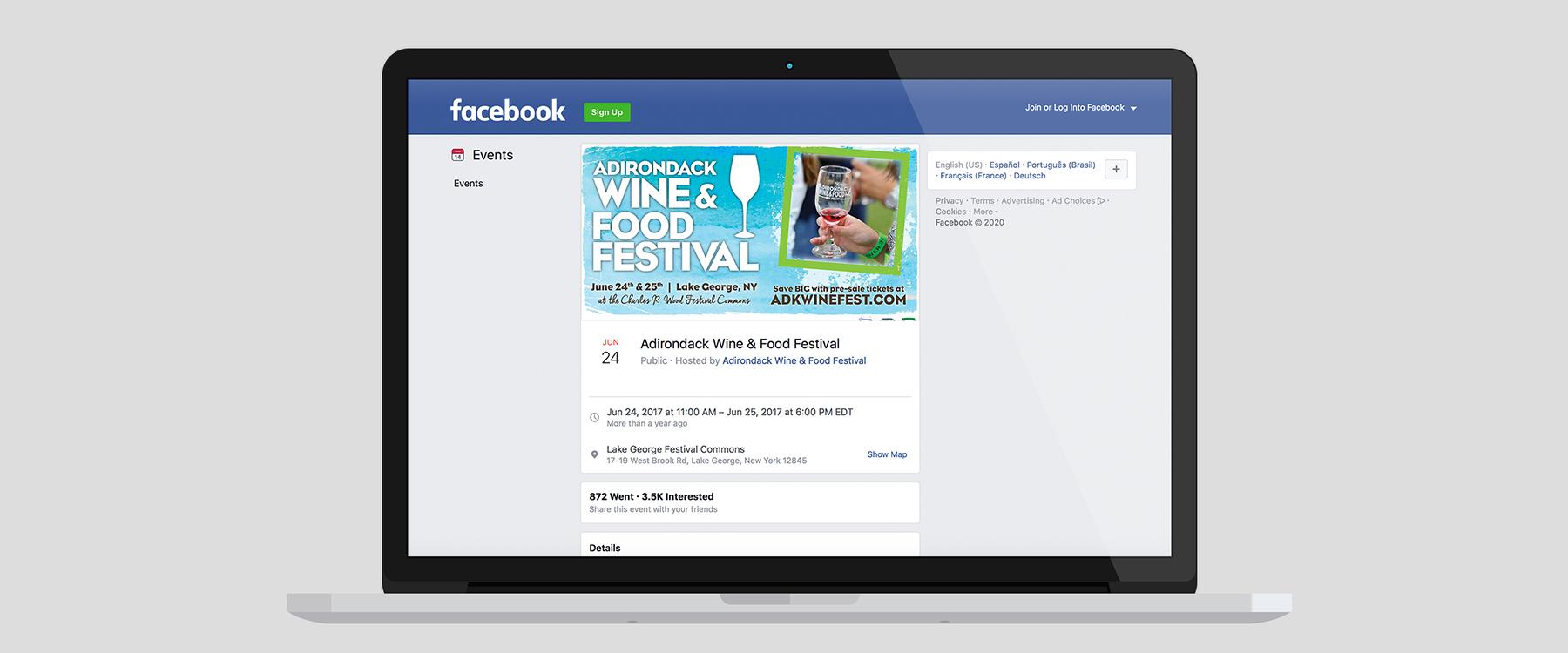 adirondack wine and food festival facebook event