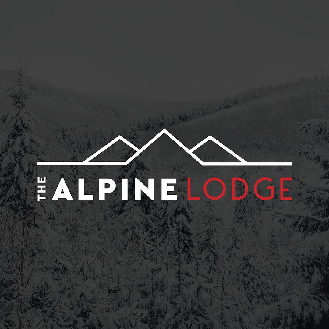 alpine lodge branding