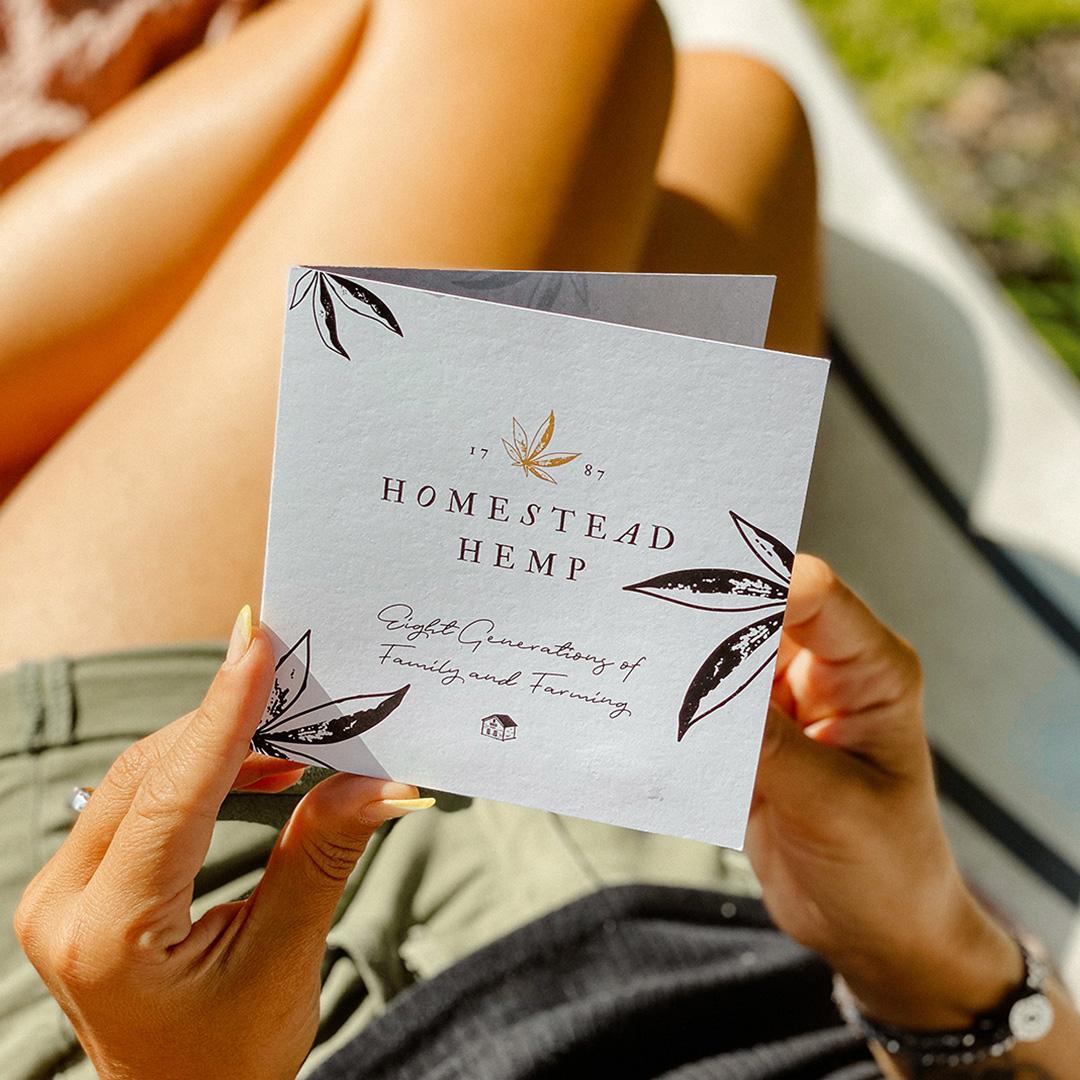 homestead hemp brochure